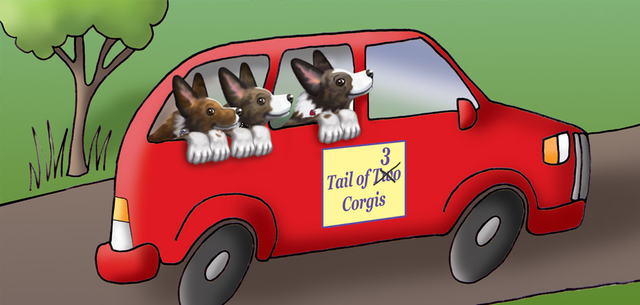 Merrazz - Tail of 3 Corgis at the Dog Show - slide2
